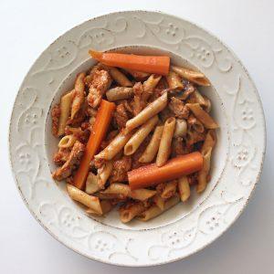 Rosto, vegan - Gibraltar pasta dish