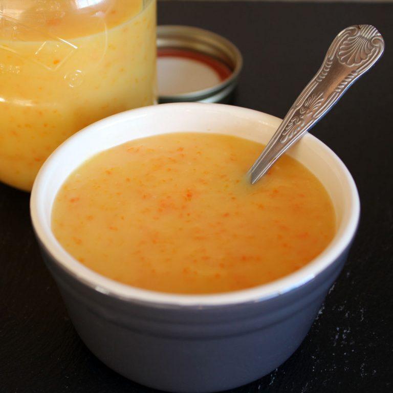Seville orange curd