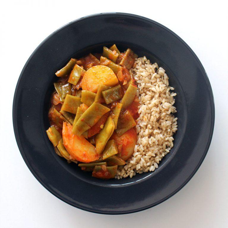 Taze fasulye, Turkish green bean stew