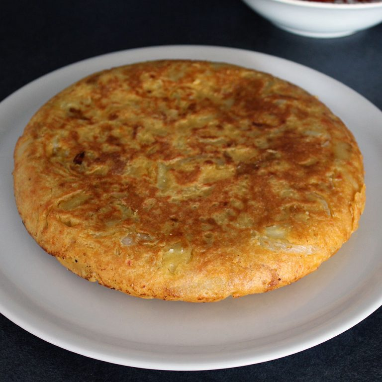 Spanish omlette, vegan