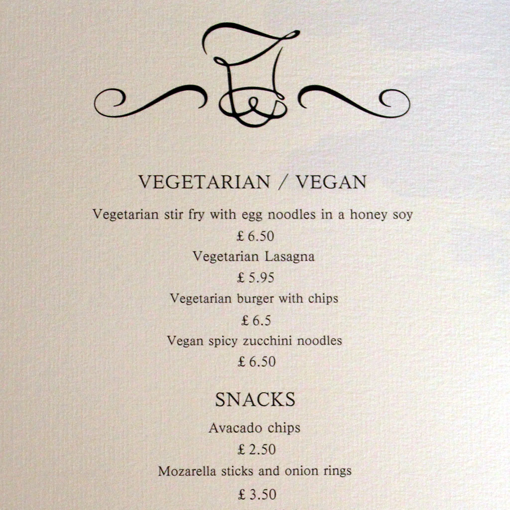 Food Studio Menu
