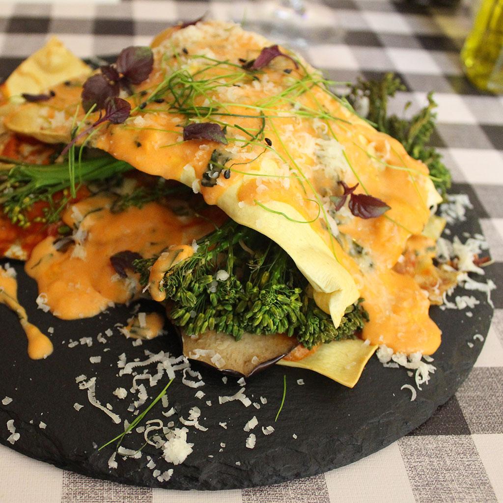 Vegetarian Lasagna @ Food Studio