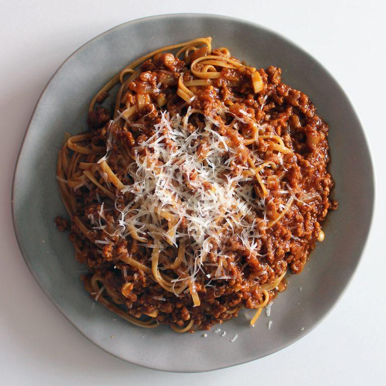 Veggie bolognese sauce