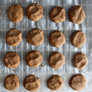 Cinnamon cookies, vegan