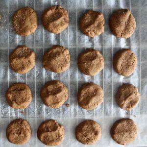 Cinnamon cookies, vegan