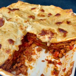 Vegan lasagne