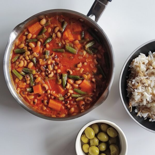 Black eye bean stew