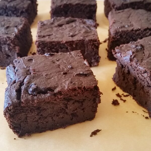 Chocolate brownies (dairy free)