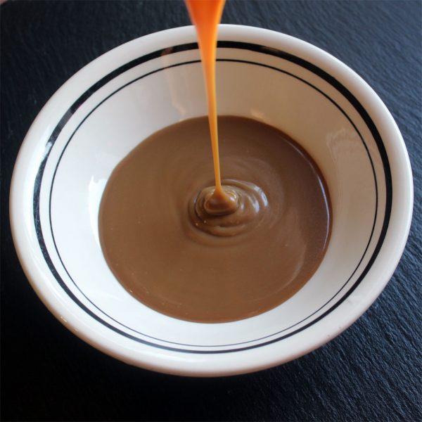 Dairy free & vegan caramel toffee sauce