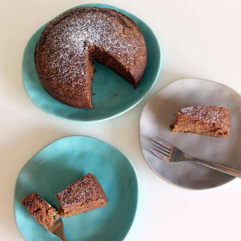 Lemon & cinnamon cake