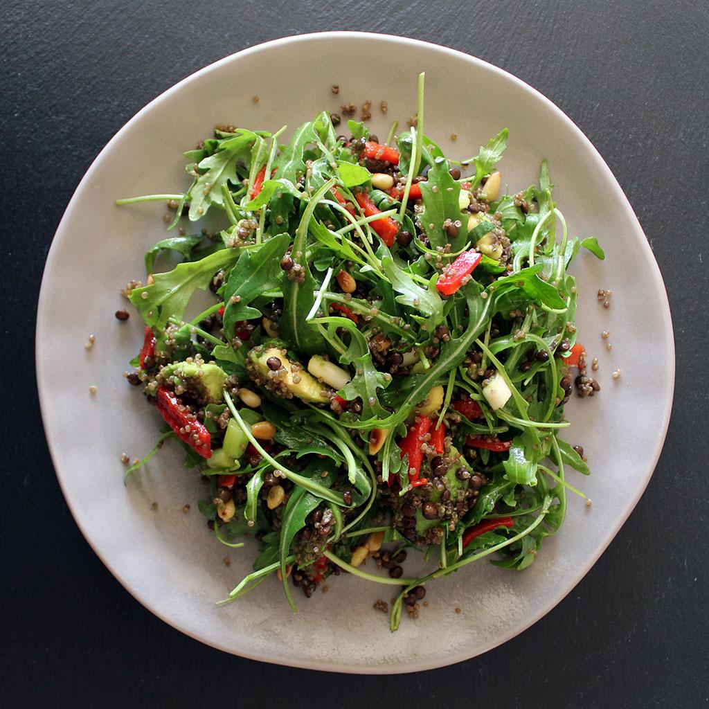Lentil Avocado Salad Recipe