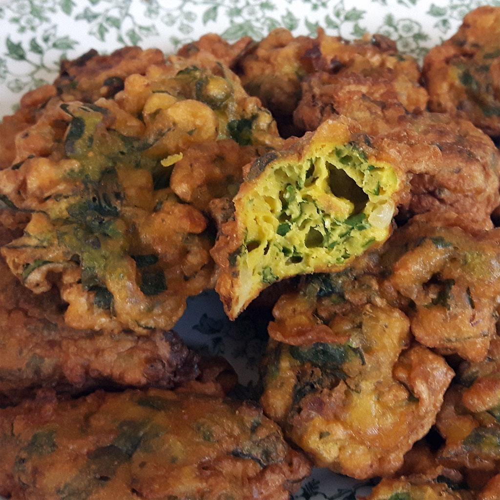 Tortillitas de acelgas. Swiss chard fritters
