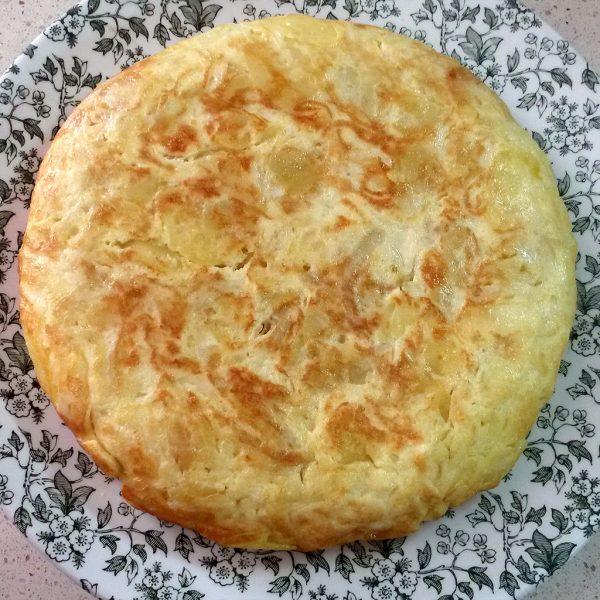 Spanish omelette, traditional recipe